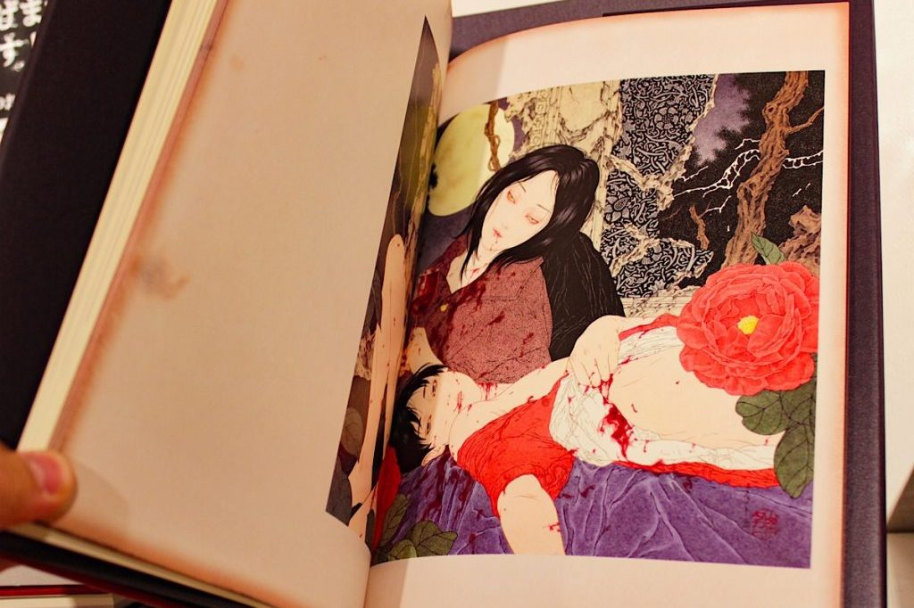 NOSFERATU, TAKATO Yamamoto's most recent collection of illustrations