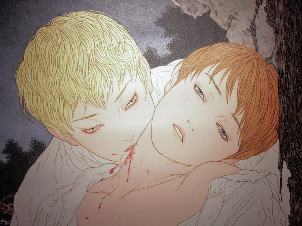 "Photo of Devour ""Heisei Estheticism"" at the Takato Yamamoto Exhibition -NOSFERATU-"
