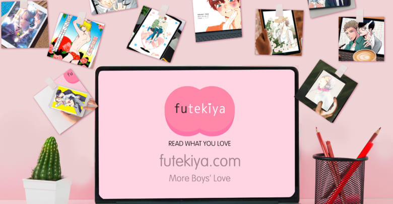 Photo of futekiya Launches Boys' Love Manga Subscription Service