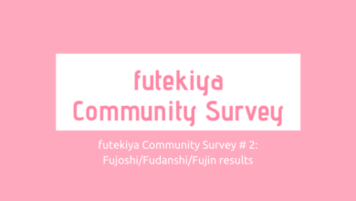 Photo of futekiya Community Survey #2 Responses: fujoshi/fudanshi/fujin