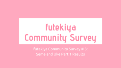 Photo of futekiya Community Survey #3 Responses: Seme and Uke Part 1