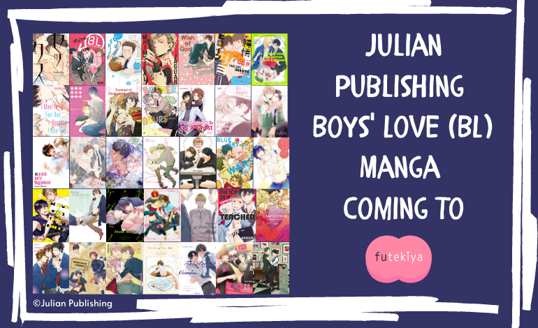 Photo of futekiya Adds 35 Boys' Love (BL) Manga from Julian Publishing to Library