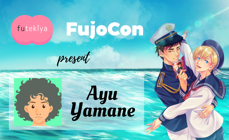Photo of futekiya and Ayu Yamane will be at FujoCon!