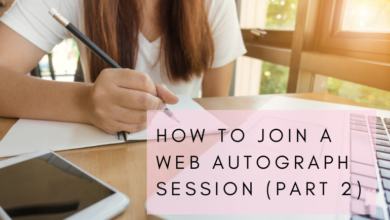 Photo of How to Join a WEB Autograph Session (Part 2)