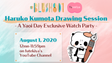 Photo of futekiya joins #BLush801 with Haruko Kumota Drawing Session Watch Party!
