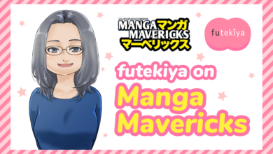 Photo of futekiya Editor-in-Chief Emma Hanashiro on Manga Mavericks