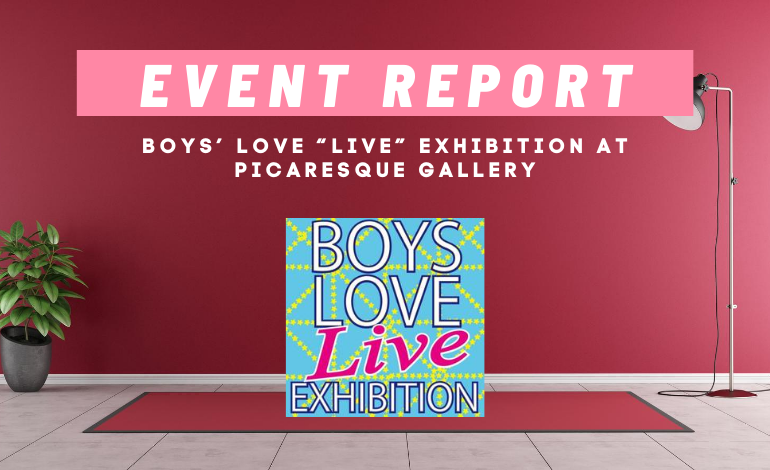 "Photo of Boys' Love ""LIVE"" Exhibition from SHIBUYA by Picaresque Gallery"