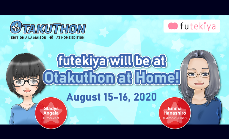 Photo of futekiya will be at Otakuthon at Home!