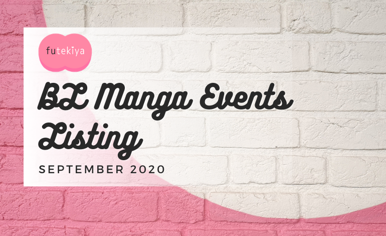 Photo of BL Manga Events September 2020: futekiya Listing