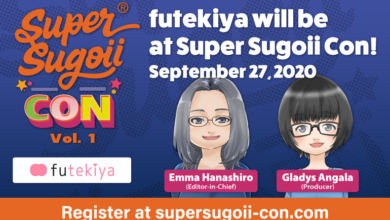 Photo of futekiya will be at Super Sugoii Con!