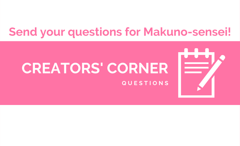 Questions for Makuno-sensei