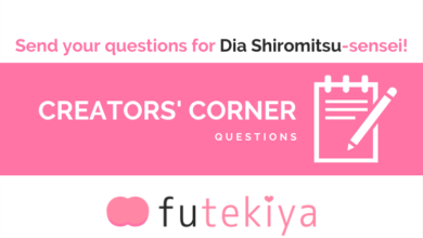 Photo of Submit your Questions for Dia Shiromitsu-sensei!